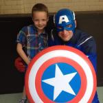 Captain America & Harvey