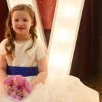 Flower Girl Illuminated LED Letters Manchester