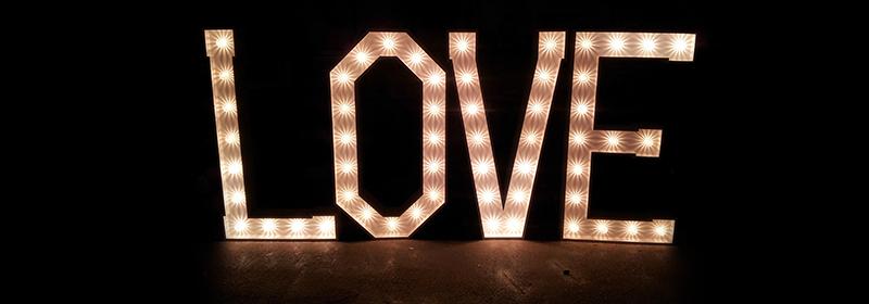 Illuminated LED Letters